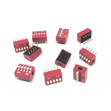 Pack de 10 DIP Switch 5P