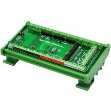 Base a Riel DIN para Arduino Mega 2560 R3