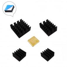 Set de Disipadores de Calor para Raspberry PI 4
