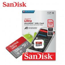Memoria Sandisk 128GB microSDXC UHS-I A1 C10
