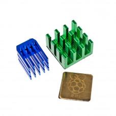 Set de Disipadores de Calor para Raspberry PI 3