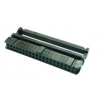 Conector IDC Hembra de 40P 2x20P Paso 2.54mm