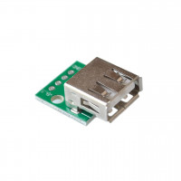 Módulo Conector USB 2.0 Hembra