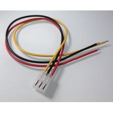 Conector Molex Hembra 3p paso 3.96mm con cable de 30cm