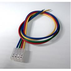 Conector Molex Hembra 4p paso 3.96mm con cable de 30cm