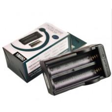 Cargador Dual para Baterías de Litio 18650