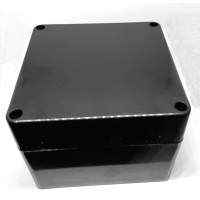 Caja Plástica Negra de 120x120x90mm IP65