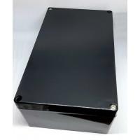 Caja Plástica Negra de 200x120x75mm IP65