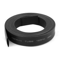 Tubo Termoretráctil 8mm Color Negro