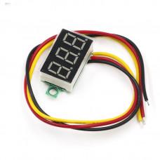 Voltímetro LED 0.36inch 0-100VDC
