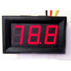 Voltímetro LED 0.56inch 0-30VDC