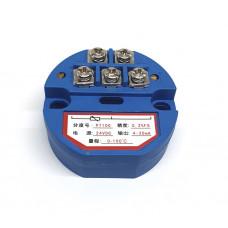 Transmisor PT100 (RTD) 4-20mA 2 hilos 0 a 100 °C