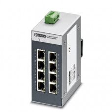 Switch Ethernet Industrial 8 Puertos