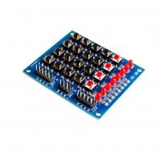 Teclado Matricial (Keypad) 4x4 con Leds