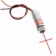 Emisor Láser de grado Industrial 650nm 5mW - Cruz