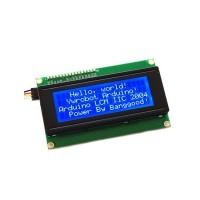 Pantalla LCD 20x4i2c con Backlight y fondo azul
