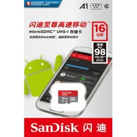 Memoria Sandisk 16GB microSDHC
