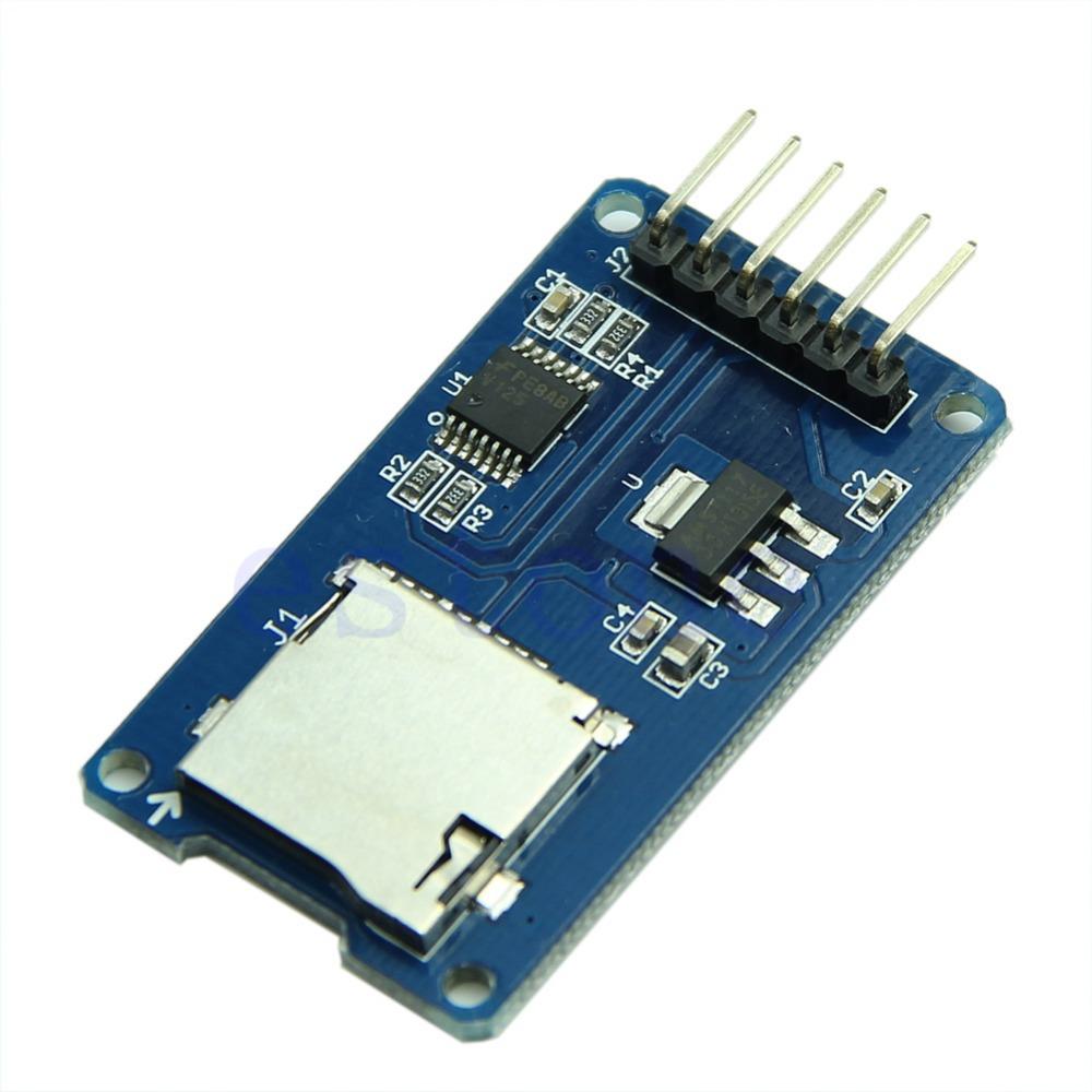 Modulo adaptador micro sd sdhc spi microsd