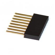 Cabezales (conectores - headers) hembra de 8 pines para Shield Arduino - 20 pcs.