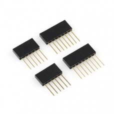 Set de cabezales (conectores - headers) hembra para Shield Arduino