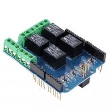 Shield Relé de 4 Canales para Arduino
