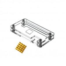 Carcasa Acrílica Transparente + Disipador para Raspberry PI Zero