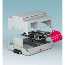 Carcasa Raspberry PI para montaje a Riel DIN
