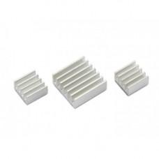 Set de disipadores de calor de Aluminio para Raspberry PI