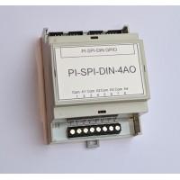 Módulo de 4 Salidas Análogas para Raspberry PI