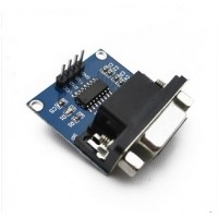 Conversor de RS-232 a TTL con Conector DB9 Hembra