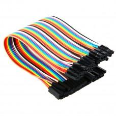 Cables Jumper 40 Pcs x 10 cms Hembra a Hembra