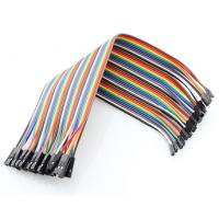 Cables Jumper 40 Pcs x 20 cms Hembra a Hembra para Arduino