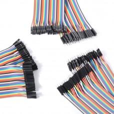 Cables Jumper 40 Pcs x 30 cms Macho a Hembra