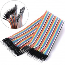 Cables Jumper 40 Pcs x 30 cms Macho a Macho