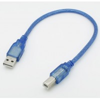 Cable USB 2.0 A Macho a  B Macho 30cm