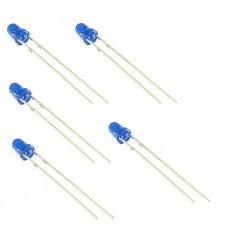 Pack de 5 Led 3mm Azul