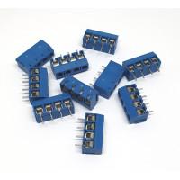 Pack de 10 Bornera de 4 Polos para PCB 5mm