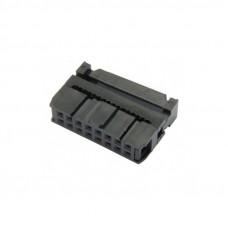 Conector IDC Hembra de 16P 2x8P Paso 2.54mm