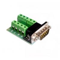 Conector DB9 Macho con terminales de tornillo