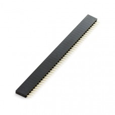 Cabezal Hembra de 40 Pines para PCB Paso 2.54mm