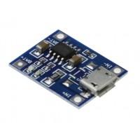 Modulo de Carga LiPo 1A Micro Usb TP4056