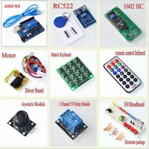Arduino starter kit rfid stepper
