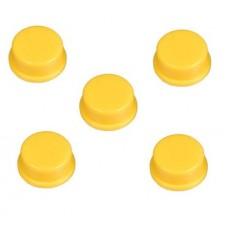 Capucha Amarilla para Pulsador (Pack de 5 Unidades)