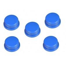 Capucha Azul para Pulsador (Pack de 5 Unidades)