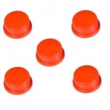 Capucha Roja para Pulsador (Pack de 5 Unidades)