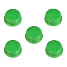 Capucha Verde para Pulsador (Pack de 5 Unidades)