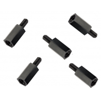 Set Separadores de Nylon M3 de 10mm (10 unidades)