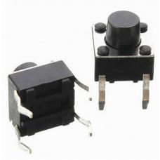 Pulsador de 6 x 6 x 6 mm (Pack 10 Unidades)