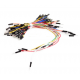 Set de cables jumper para protoboard (breadboard) o Arduino 65pcs