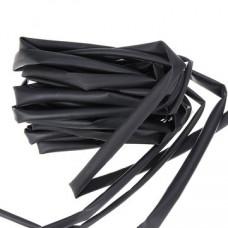 Tubo Termoretráctil 4mm Color Negro